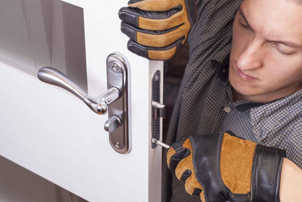 Door-Lock-Install