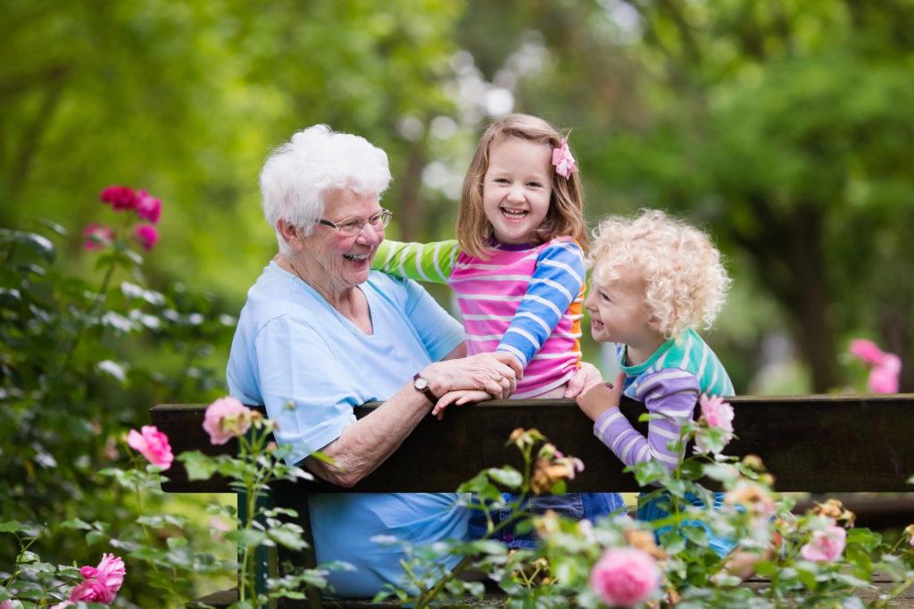 grandma-and-kids