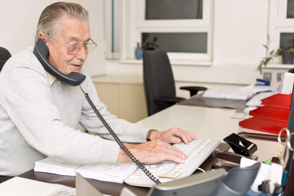 Grandpa-in-the-Office